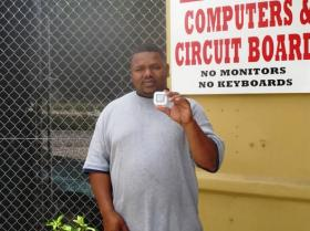 April 2011 Winner Calvin Royster